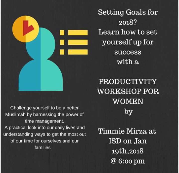 Diversity Sisters Productivity Workshop