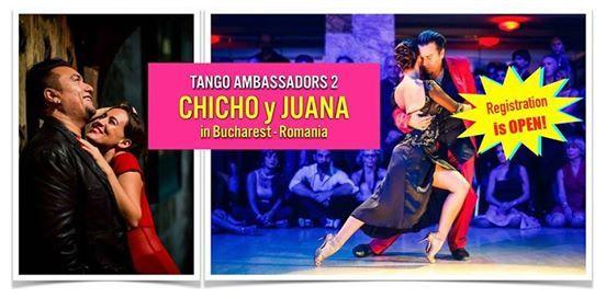 Chicho y Juana in Romania - Tango Ambassadors 2 Bucharest