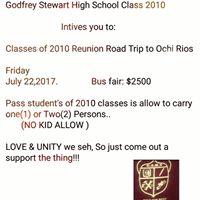 Godfrey Stewart High Union Road Trip To Ochi