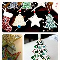 Stained-Glass Mosaic Christmas Class with Claire OBrien
