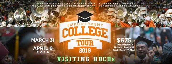 Empowerment Church College Tour 2019