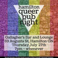 July Queer Pub Night