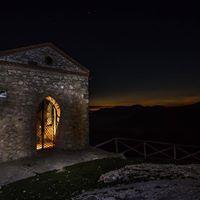 Monte Cacume di notte e mangiata al rifugio