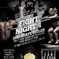 Australian Intermediate Fight Night Title