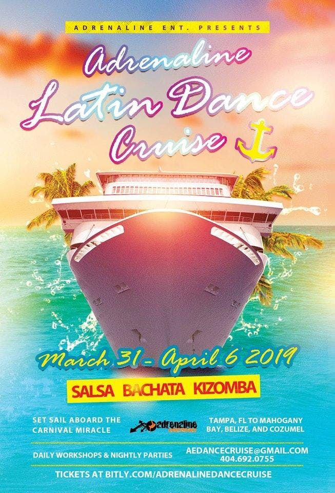 Adrenaline Latin Dance Cruise