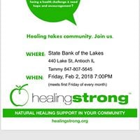 HealingStrong Support Group Meeting Antioch IL
