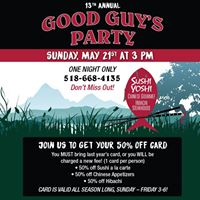 13th Annual Good Guys Party