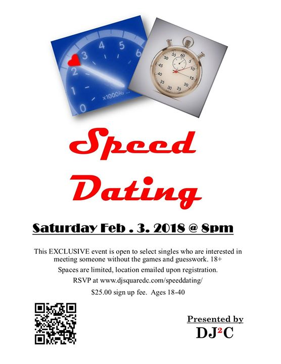 Speed dating location