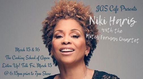 JAS Cafe Presents Niki Haris w. the Mitch Forman Quartet