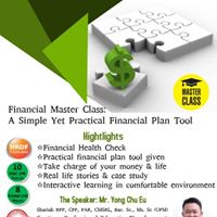 Financial MasterClass-A simple yet practical financial plan tool