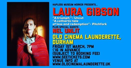 Laura Gibson at Old Cinema Launderette