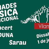 Concert De Duna Sopar I Sarau
