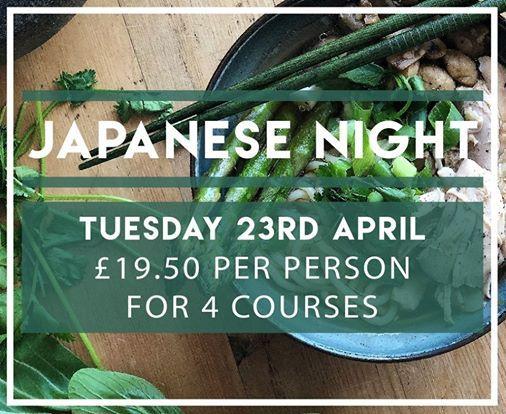 Casa Mia Japanese Night