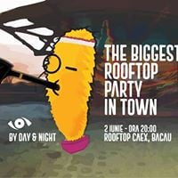The Biggest Rooftop Party In Town by Day &amp Night