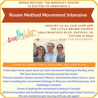 Rosen Method Movement Intensive in Pacifica