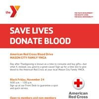 Red Cross Blood Drive at the Y