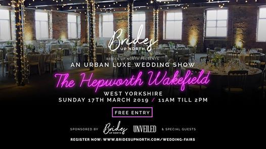 An Urban Luxe Wedding Show at The Hepworth Wakefield