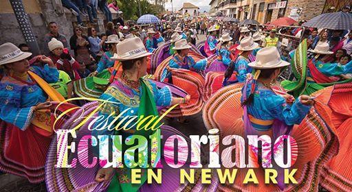 Festival Ecuatoriano 2018 en Penn Station de Newark