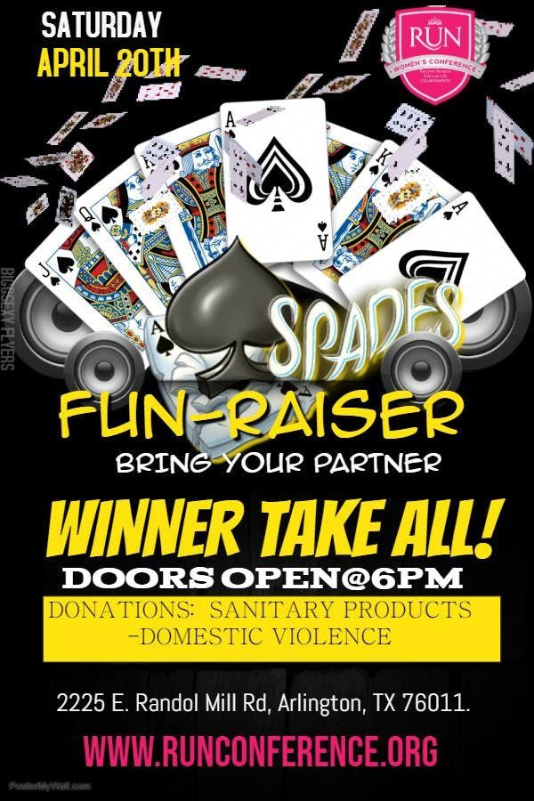 SPADES PARTY FUNDRAISER