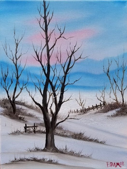 Bob Ross Painting Class With Certified Ross Instructor Maryville