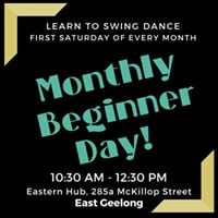 Monthly Beginner Swing Day - July Edition