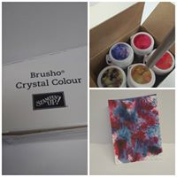 Brusho Color Crystal class