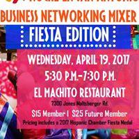 Noche en San Antonio Business Networking Mixer Fiesta Edition