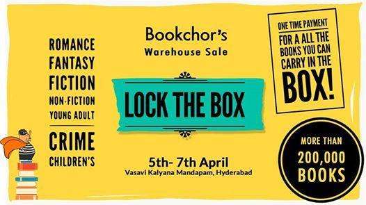Lock the Box  Bookchors Warehouse Sale
