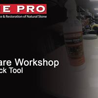 Stone Care Workshop Class- at Hard Rock Tool