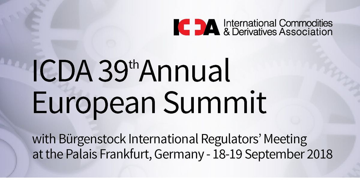 CCP Resolution & Risk at the ICDA 39th Annual European Summit ...