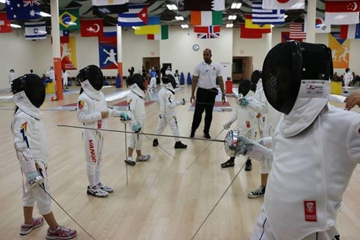 Initiation to Fencing Camp