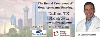 Dallas Dental Sleep Medicine Seminar