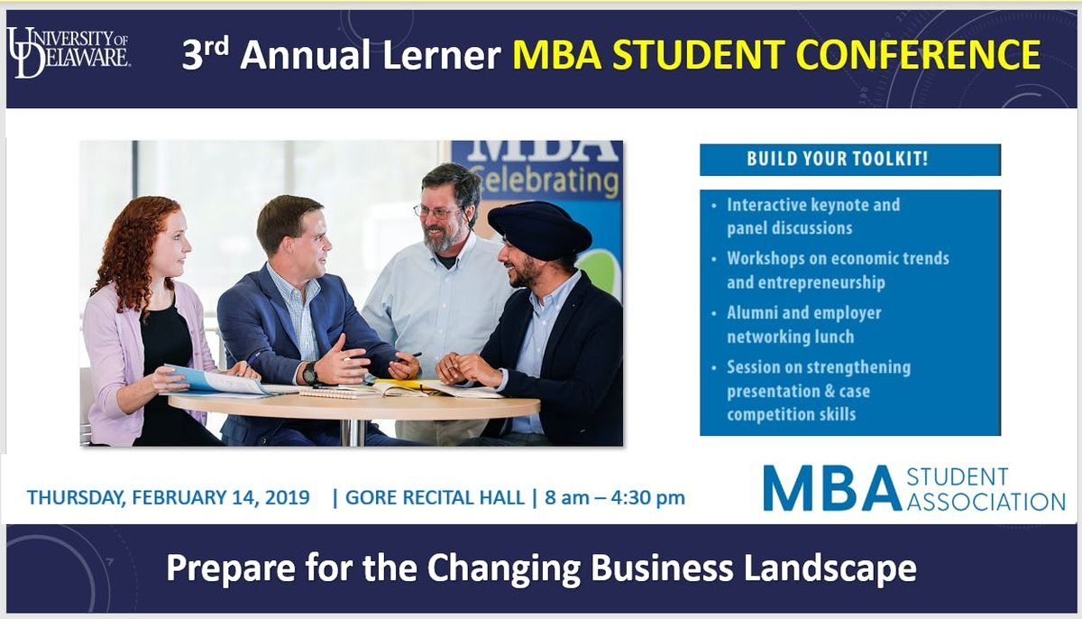 3rd Annual Lerner MBA Student Association Conference
