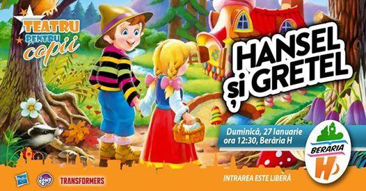 Teatru pentru copii - Hansel i Gretel