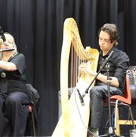 Bev Whelan and Eoin Feely at Lancaster Music Festival