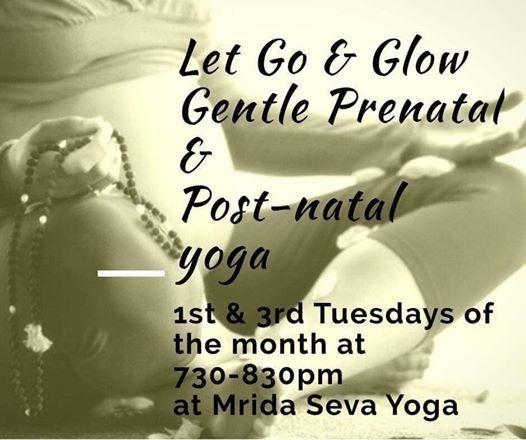 Let Go & Glow-Gentle Prenatal yoga