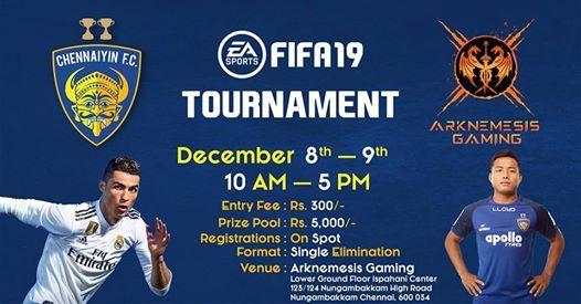 Chennaiyin FC FIFA Tournament