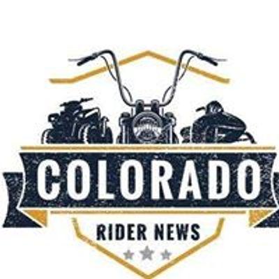 Colorado Rider News