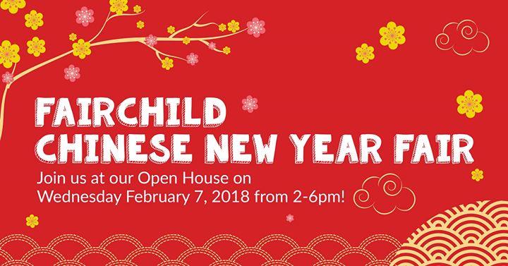 Chinese New Year Fair at Fairchild Kindergarten SYP