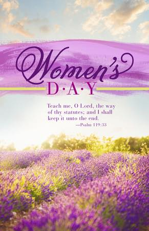 annual womens day at providence mb church greenwood