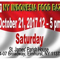 October 2017 New York Indonesian Food Bazaar