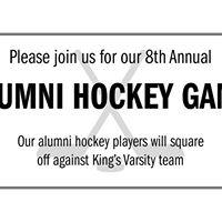 8th Annual Alumni Hockey Game