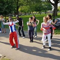 Rumba Salsa &amp Barbeque in London Fields with Gerardo y Rumbach