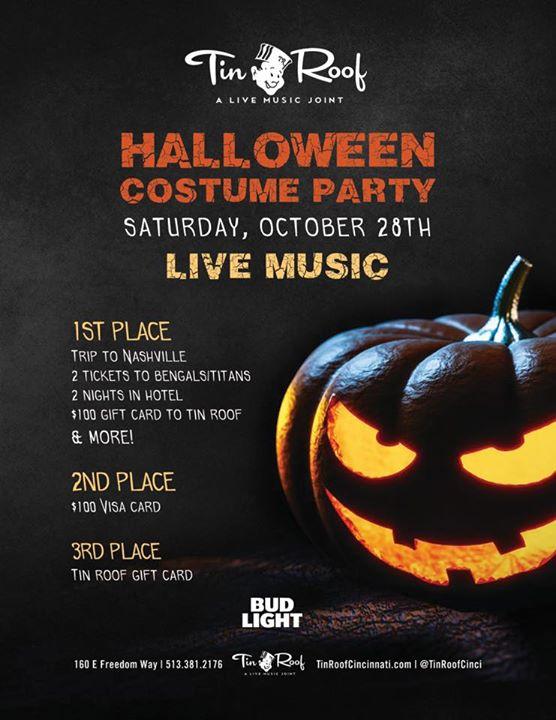 Halloween Party at Cinci Tin Roof, Cincinnati