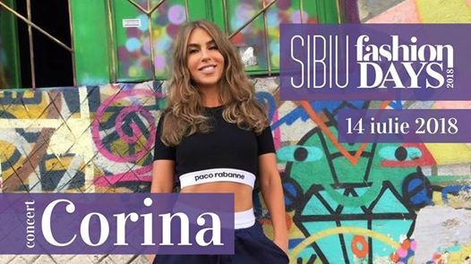 Concert Corina  Sibiu Fashion Days 2018