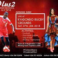PlusTwo Almuni outdoor event