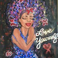 Love Yourself Paint &amp Sip pARTy