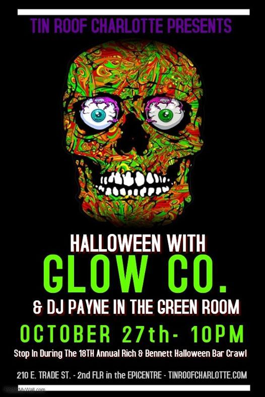 halloween with glow co dj payne