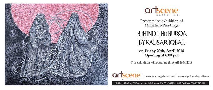 Behind the Burqa by Kausar Iqbal