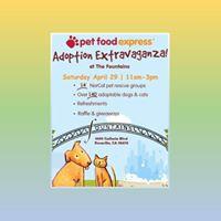 GAC at Roseville Pet Food Express - Spring Adoption Extravaganza